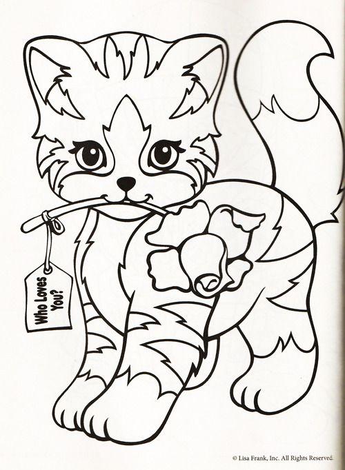 lisa frank coloring page icing malvorlagen zum