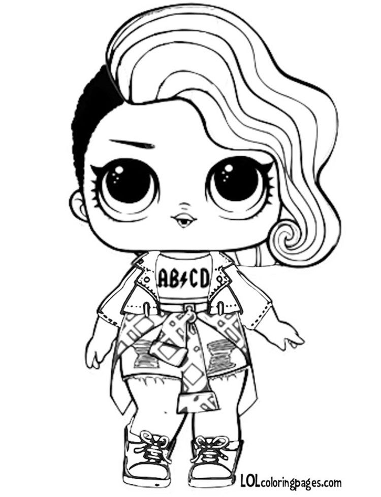 lol coloring pages rocker