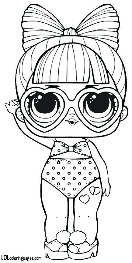 lol surprise dolls coloring pages black and white