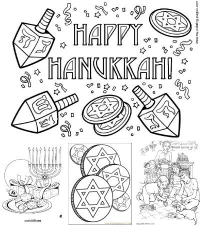looking for free printable hanukkah coloring pages look no