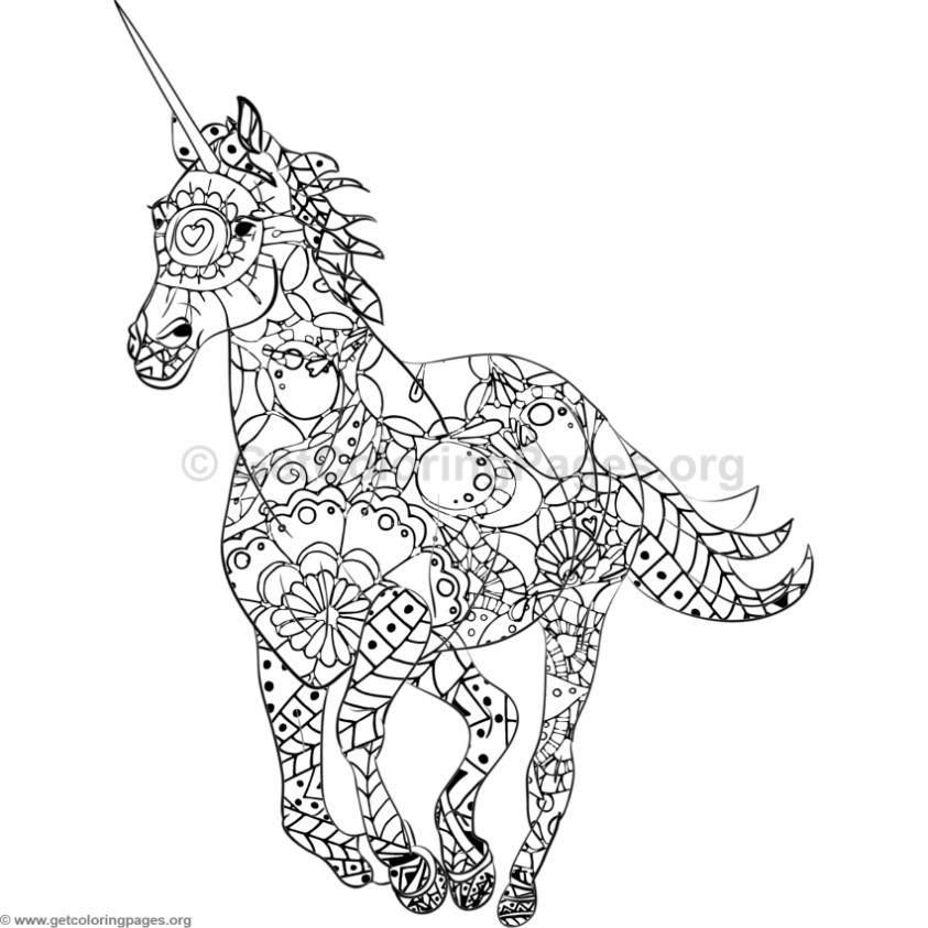 mandala animal coloring pages
