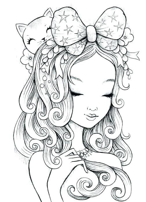manga coloring pages for adults at getdrawings free