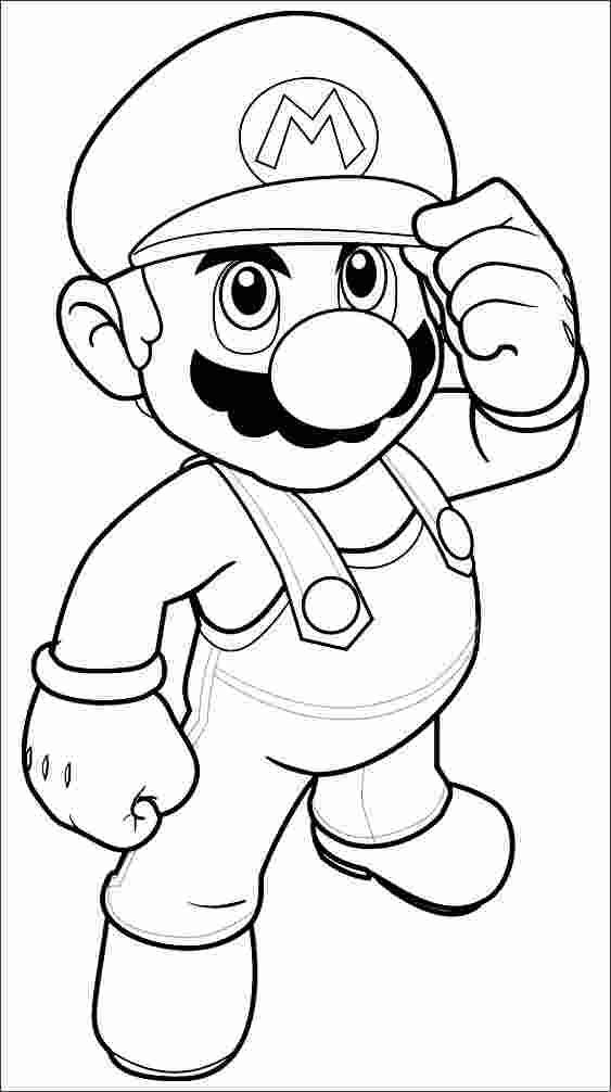 mario bros luigi coloring pages super mario coloring pages