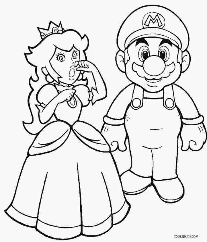mario princess coloring pages mario princess peach coloring