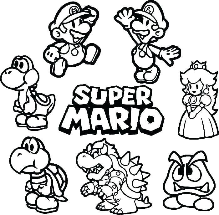 mario printables noticiasdemexico