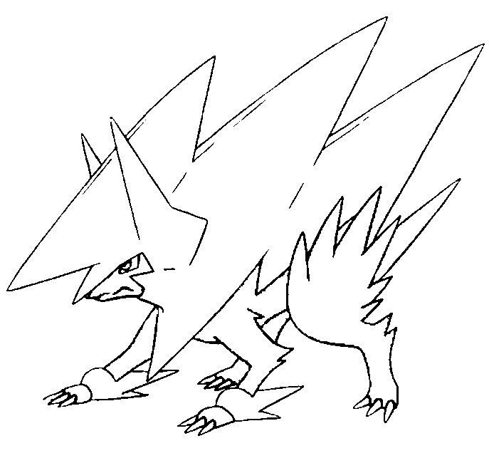 mega pokemon printable coloring pages coloring page mega