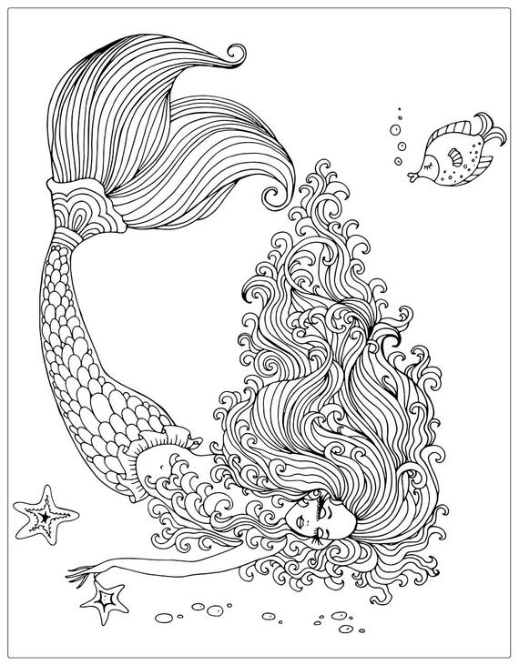 mermaids coloring books coloring pages adult coloring books adult coloring pages coloring books for adults