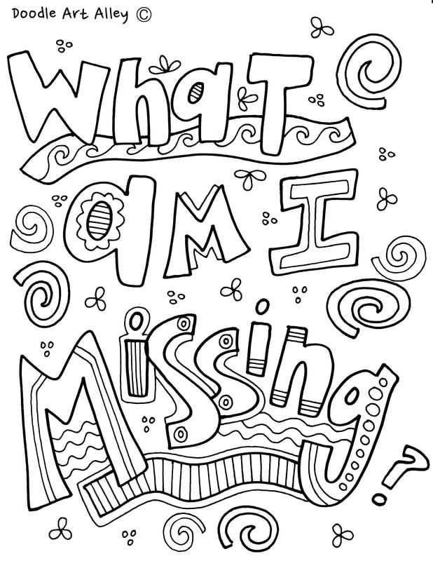 mindset coloring pages to print fun for kids