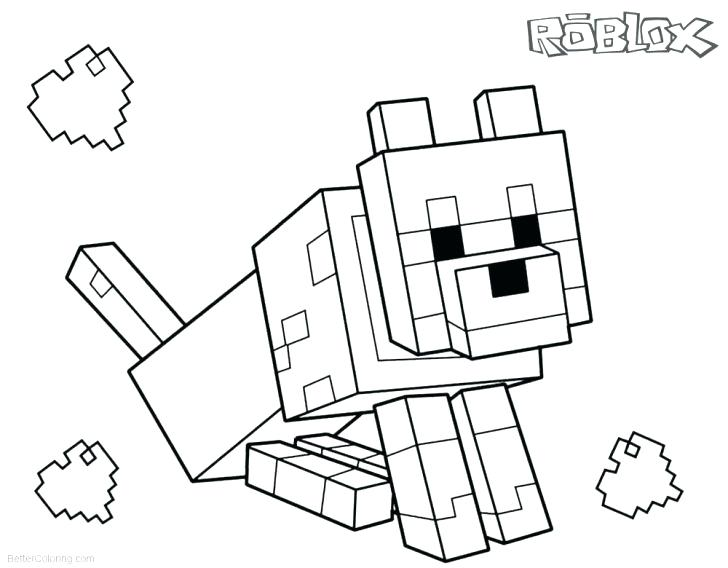 minecraft colouring pages free download pusat hobi