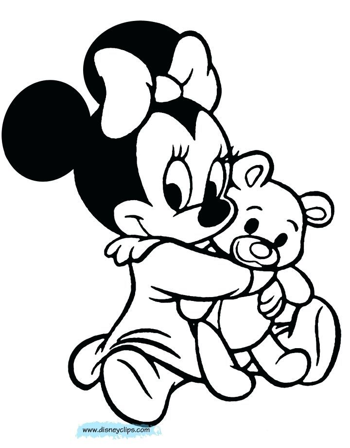 minnie mouse printable coloring pages ba minnie mouse