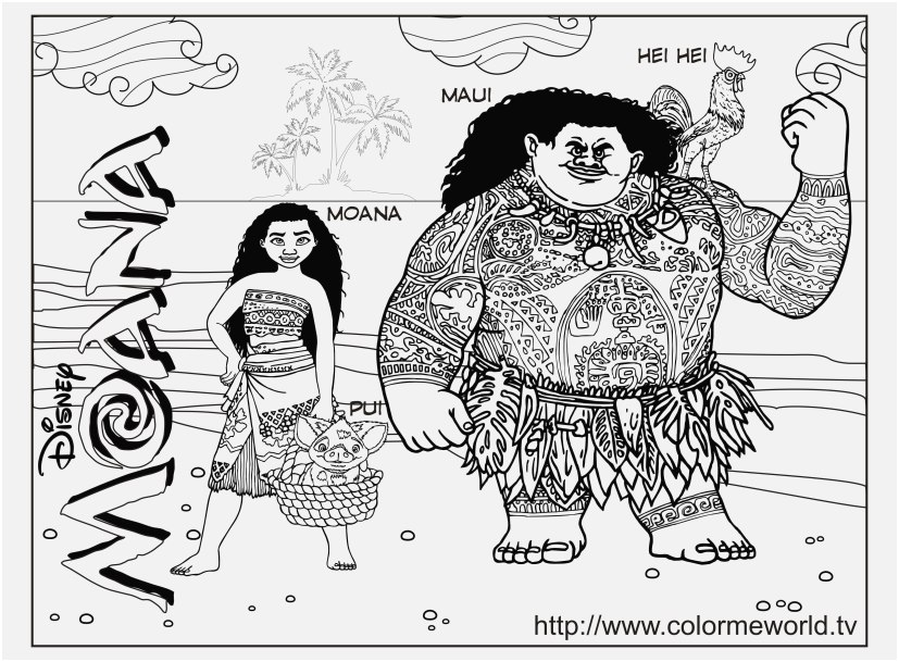 moana coloring pages printable photo moana coloring pages