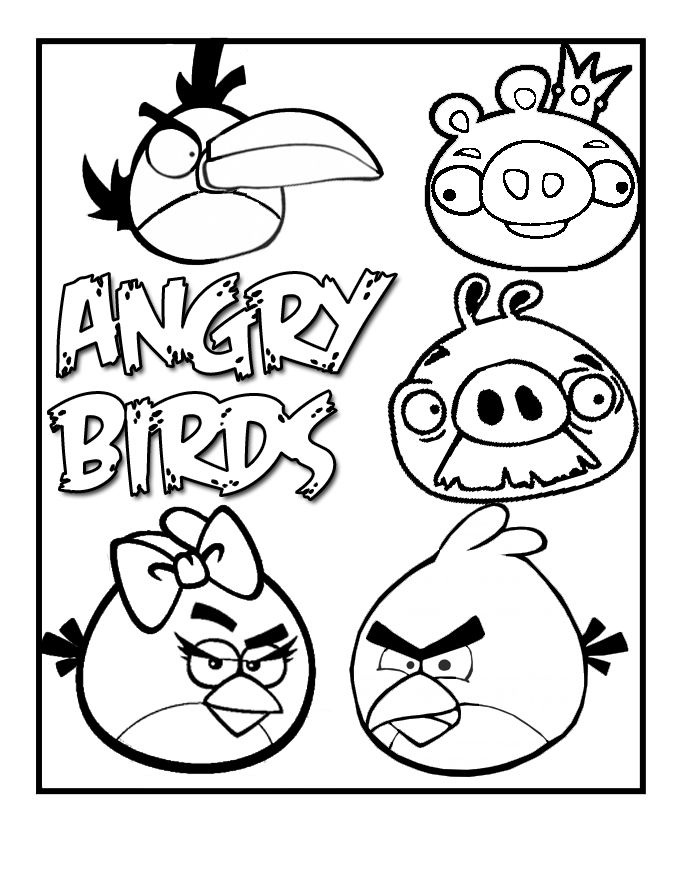 more angry birds printable coloring sheets bird coloring