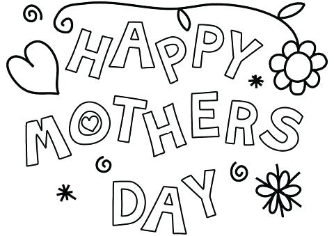 mothers day coloring pages siirthaber
