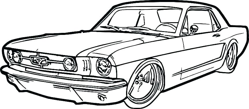mustang gt drawing free download best mustang gt drawing