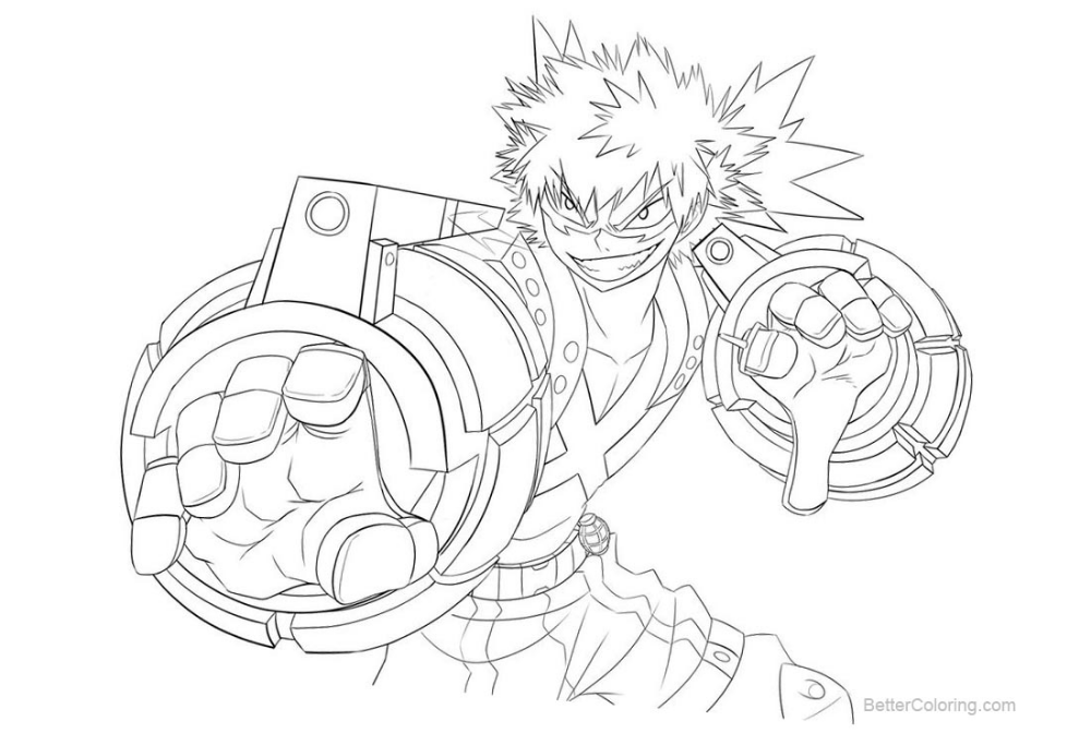 my hero academia coloring pages google search
