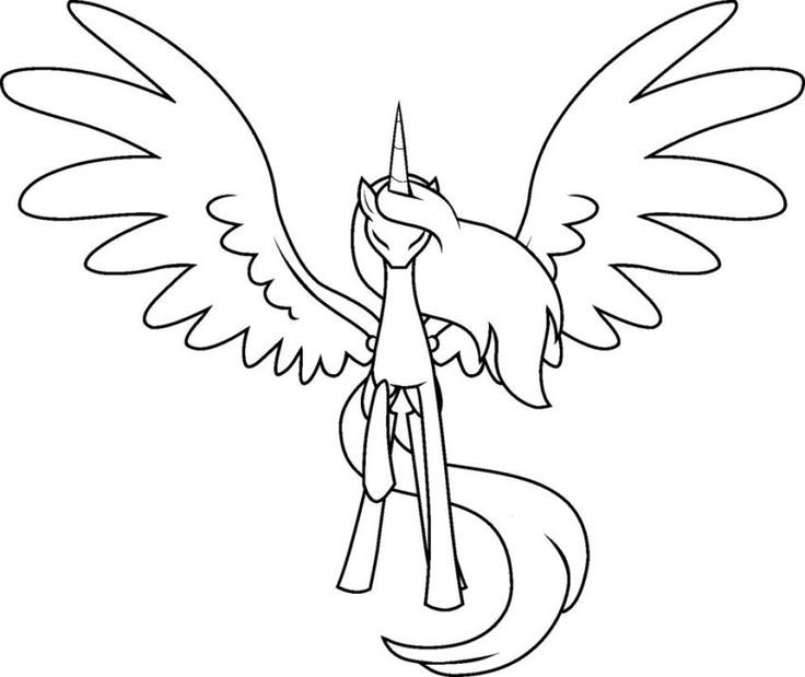 my little pony coloring pages alicorn alicorn coloring