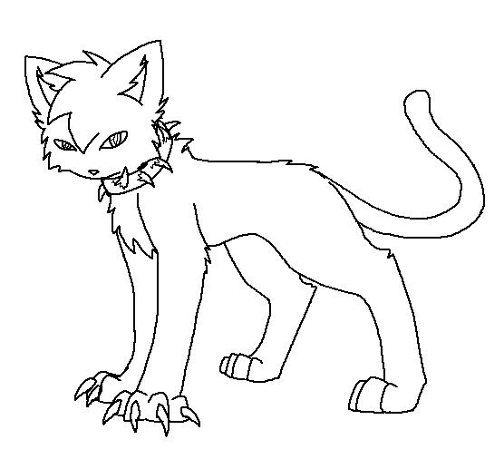 nails warrior cat coloring pages fun for kids