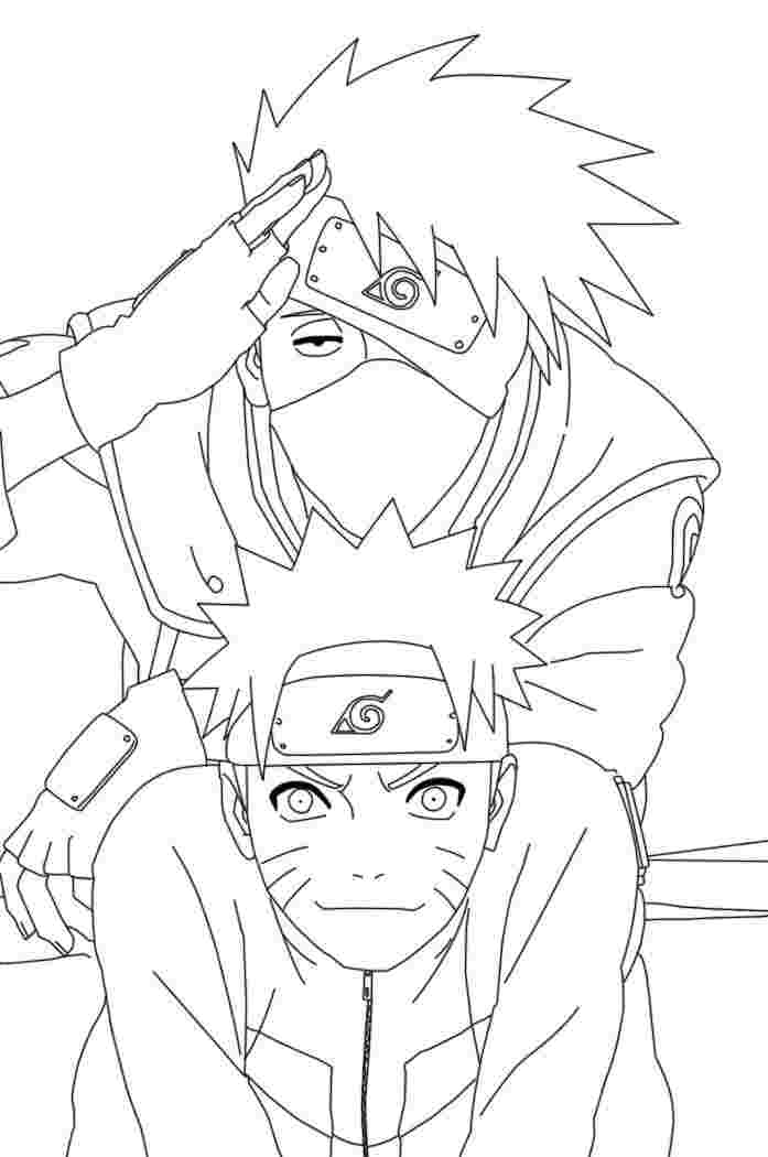 naruto shippuden printable coloring pages free printable