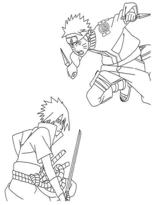naruto shippuden printable coloring pages printable coloring