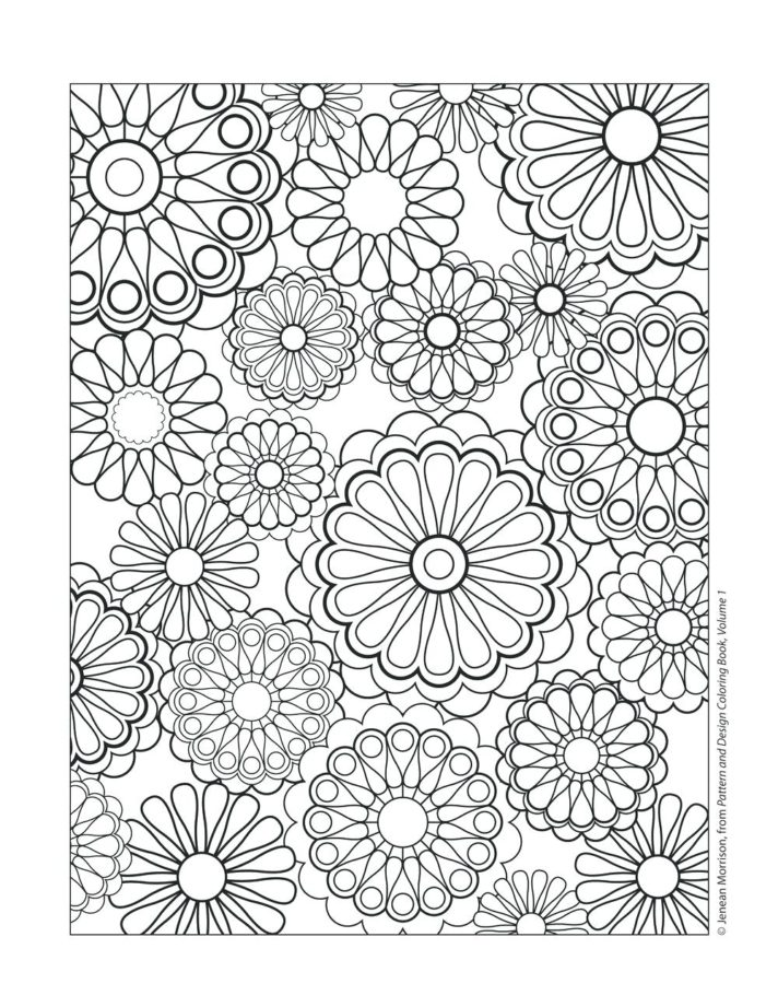 new coloring pages cute design rangoli patterns colouring