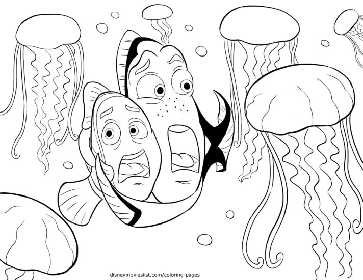 new coloring pages cute jellyfish book colouring in pagess