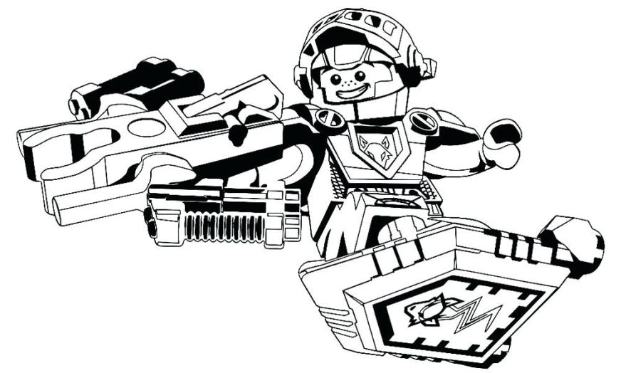 nexo knight coloring pages at getdrawings free for