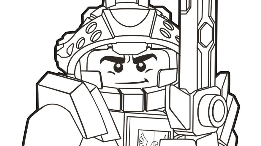 nexo knights coloring pages at getdrawings free for