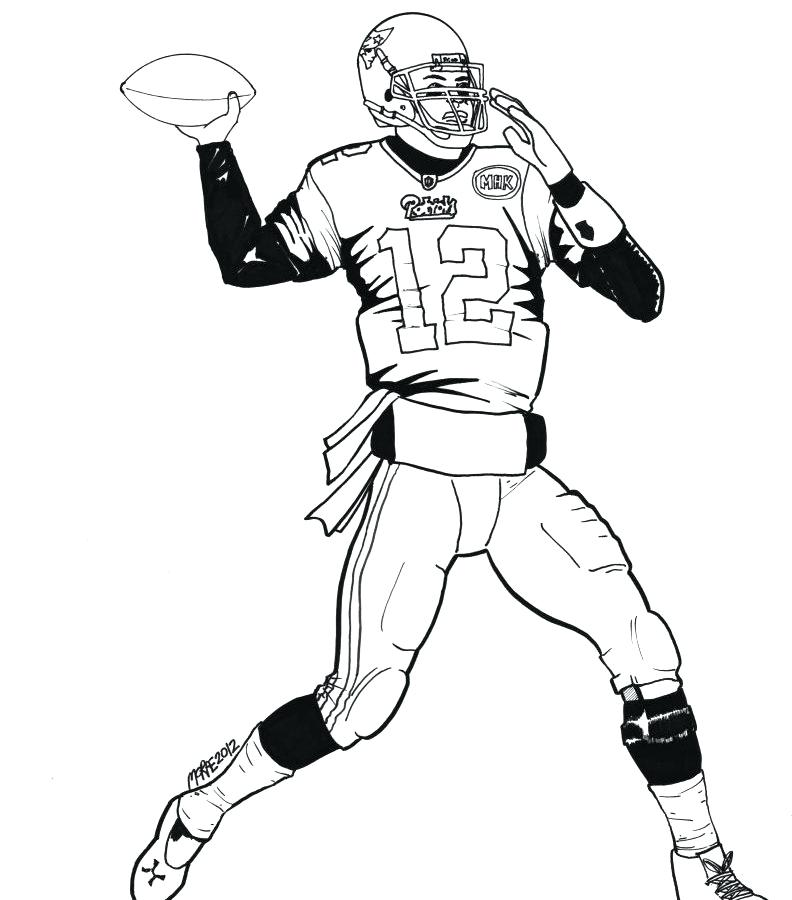 Nfl Coloring Pages Pictures Whitesbelfast