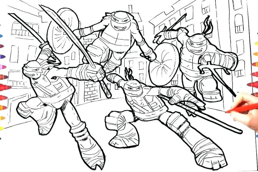 ninja turtles coloring pictures interesantecosmetice