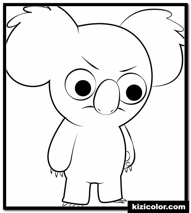 nom nomsy free printable coloring pages for girls and boys