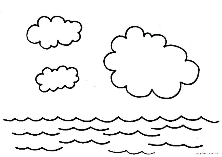 ocean water coloring pages