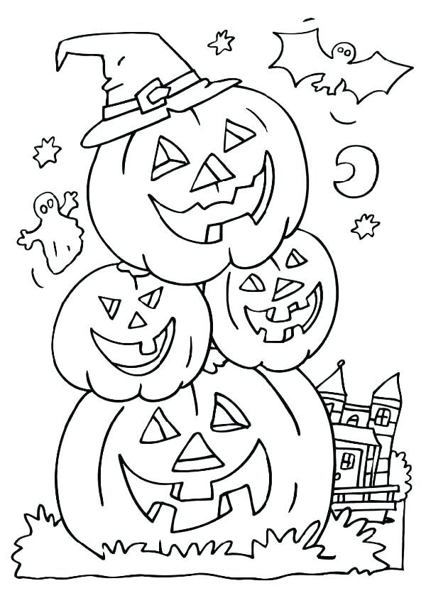 october coloring pages malvorlagen halloween halloween