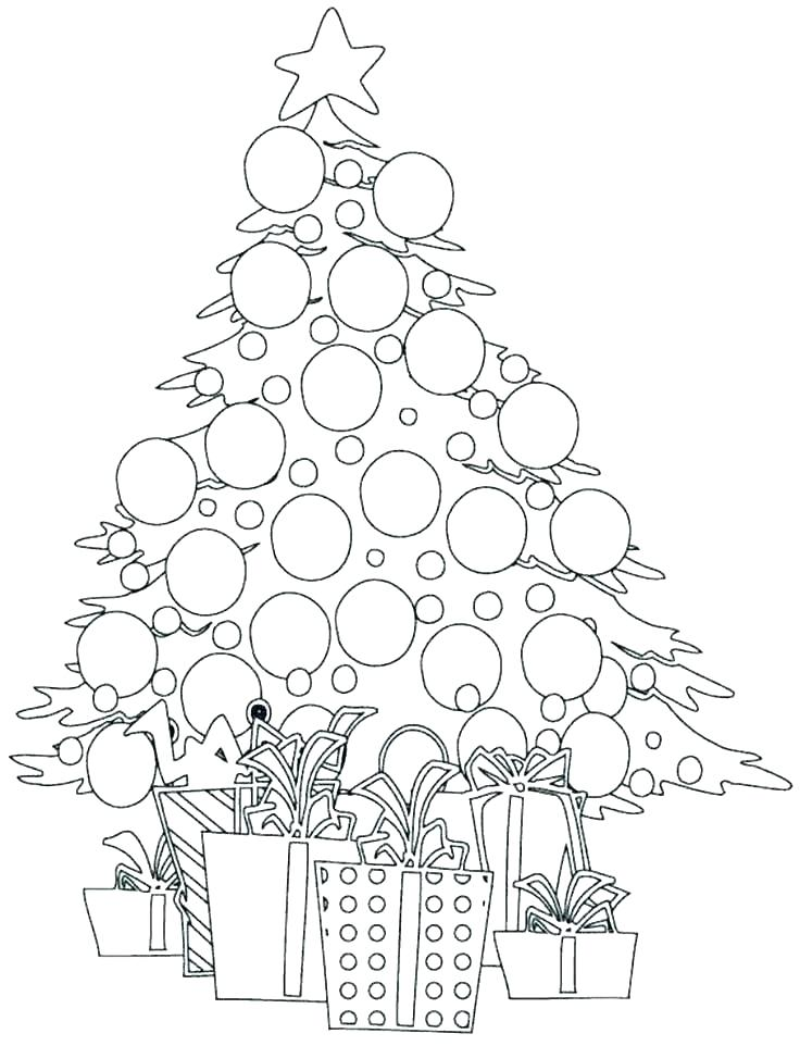 ornaments coloring pages free christmas printables