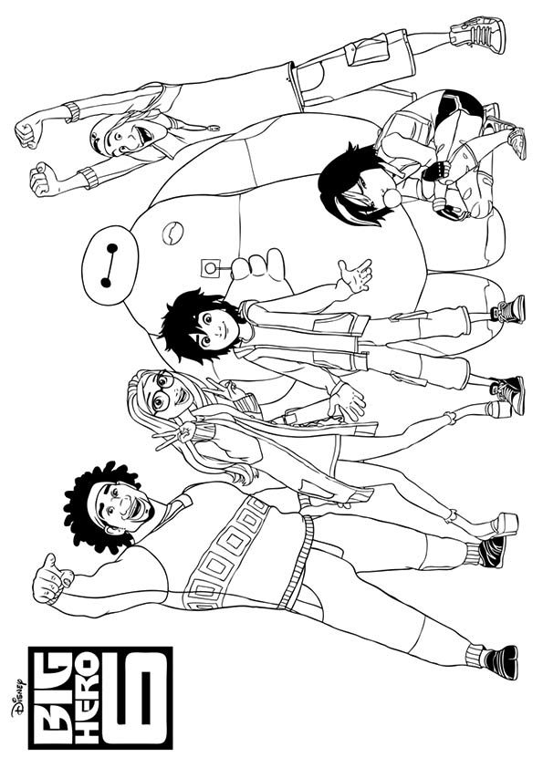 parentune free big hero 6 coloring pages printable big