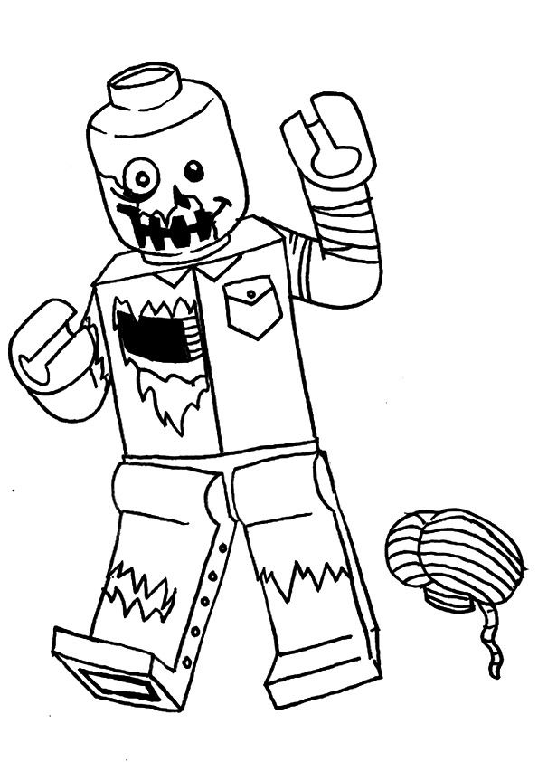 parentune free printable mario as zombie coloring