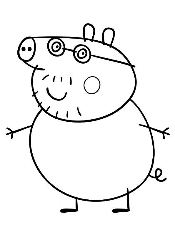 parentune free printable peppa pig coloring pages peppa