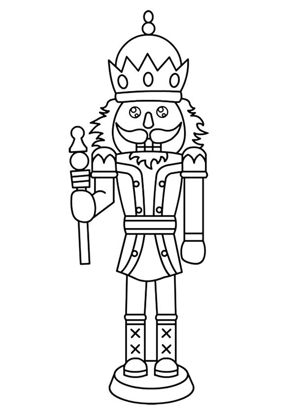 parentune free printable the nutcracker coloring picture