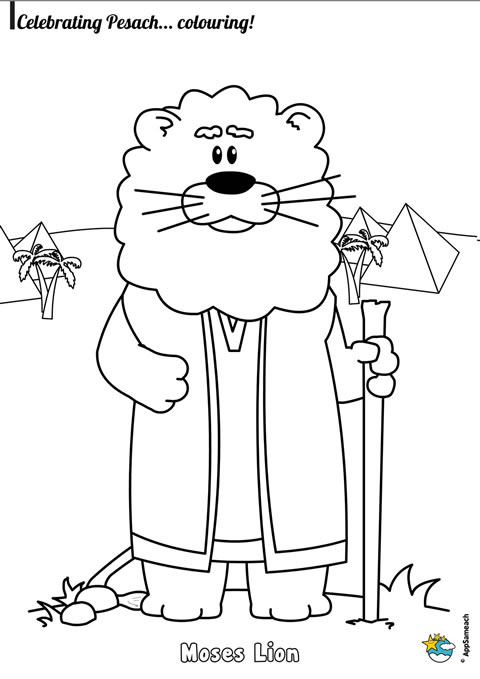 passover characters coloring pages jewish traditions for