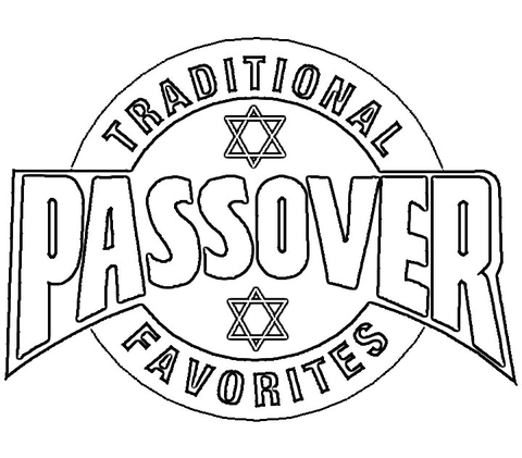passover poster coloring page free printable coloring pages