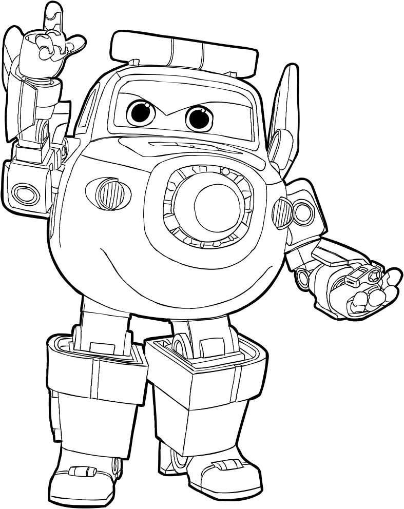 paul of the super wings coloring page coloring pages for
