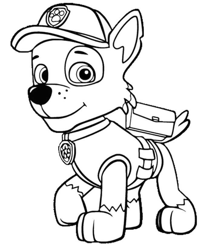 paw patrol coloring pages to print paw patrol coloring