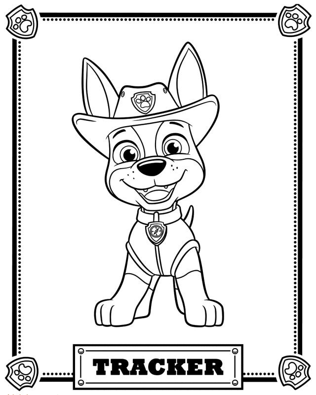 paw patrol to color best paw patrol printable coloring of