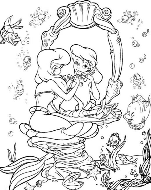 pdf coloring pages disney