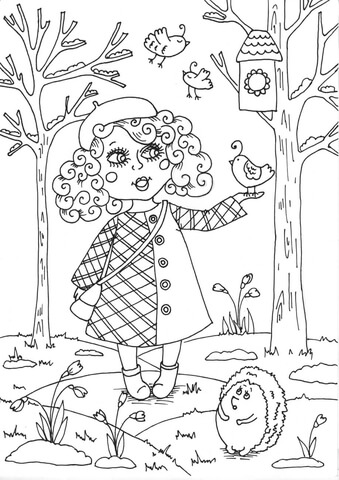 peppy in march coloring page free printable coloring pages