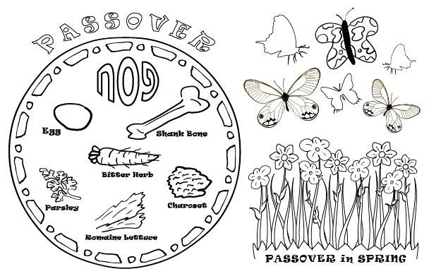 pesach coloring pages meal coloring pages free download