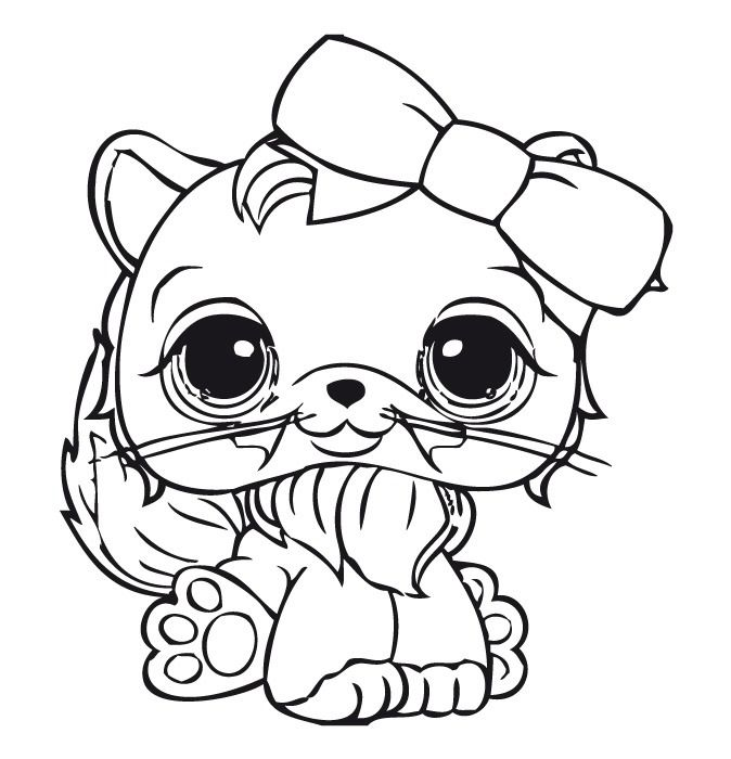pet shop coloring pages printable series littlest pet shop