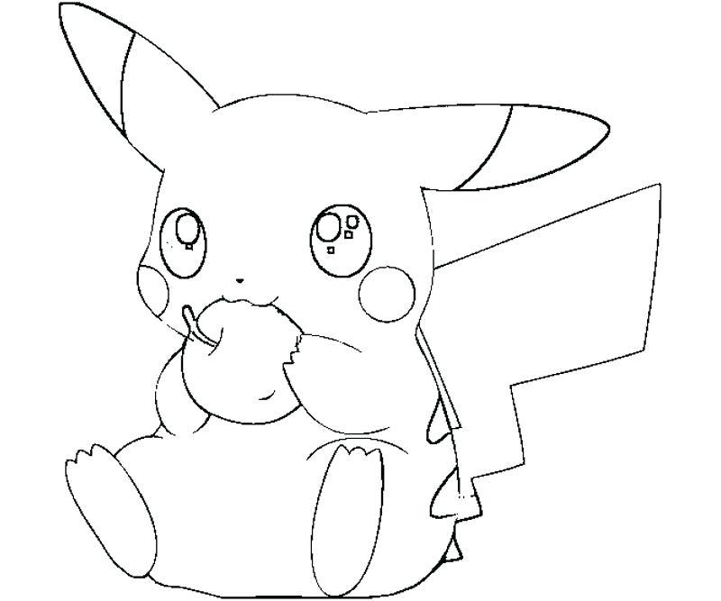 pikachu color pages pokemon detective coloring zantclub