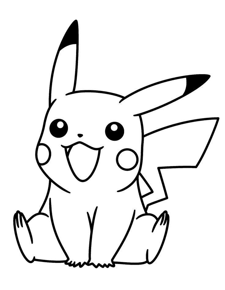 pikachu pokemon coloring pages pokemon ausmalbilder