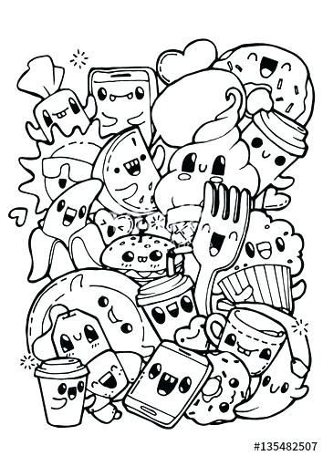 pin hamidehzare on 1 cute coloring pages food coloring