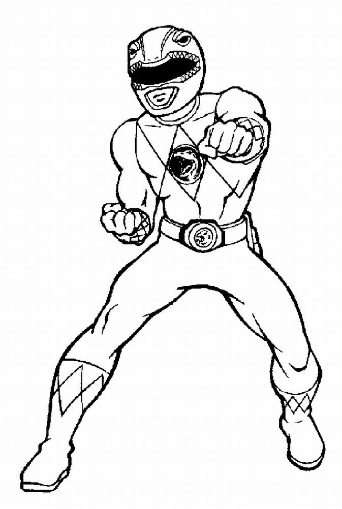 pin julia on colorings power rangers coloring pages